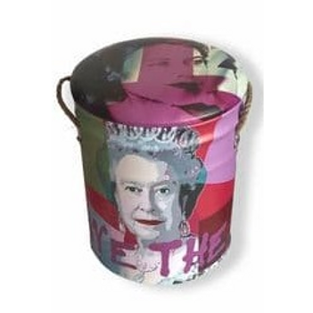 God save the queen  large  stool
