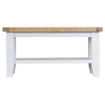 DORSET WHITE PAINTED COLLECTION SMALL COFFEE TABLE