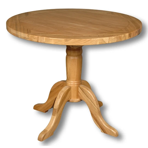 WINDSOR OAK ROUND DINING TABLE