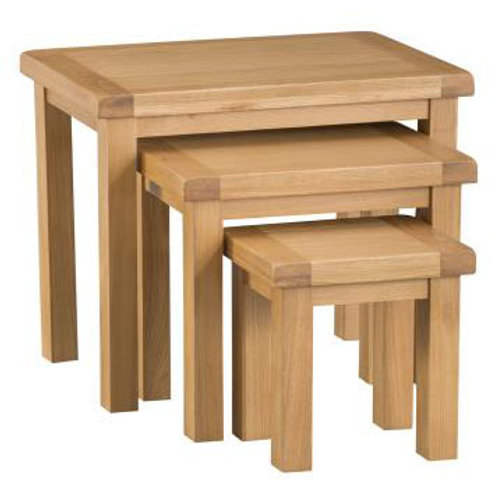 NEW KENT RUSTICNEST OF TABLE 3 SET