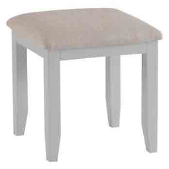 DORSET GREY  COLLECTION DRESSING TABLE STOOL