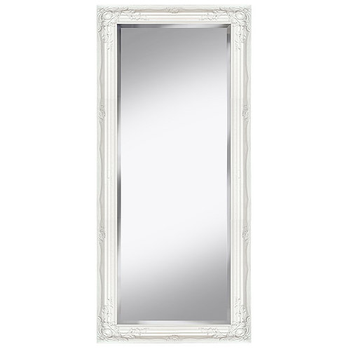 SEATTLE 72 X 162 WHITE LEANER MIRROR