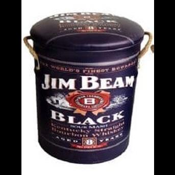 jim beam black large  stool