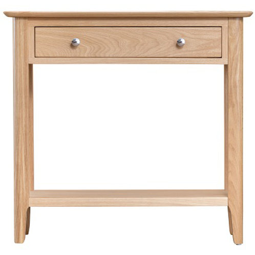 New Bromley Oak Console Table