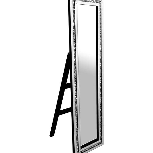 CRUSHED GLASS  CHEVAL MIRROR