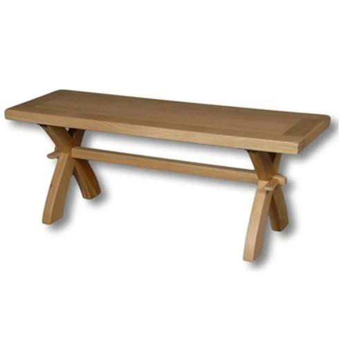 windsor oak 1.2cm bench/coffee table