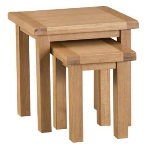 NEW KENT RUSTICNEST OF TABLE 2 SET