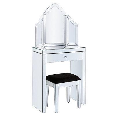 Venetian Glass Small Dressing Table Set
