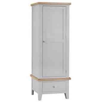 DORSET GREY  COLLECTION SINGLE  WARDROBE