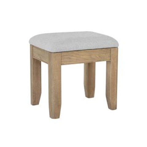 country oak dressing table stool