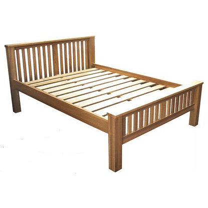 WINDSOR  OAK RANGE 5FT BED FRAME