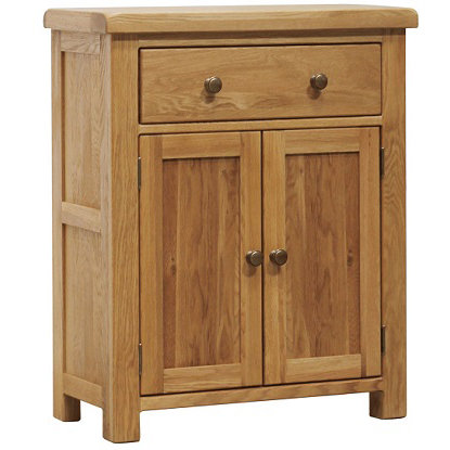 HENLEY RUSTIC OAK 1 DRAWER SIDEBOARD