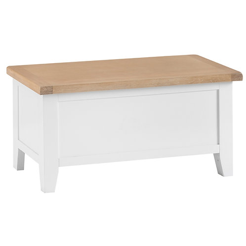 DORSET WHITE  PAINTED COLLECTION BLANKET BOX