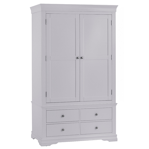 CAMDEN GREY DOUBLE WARDROBE