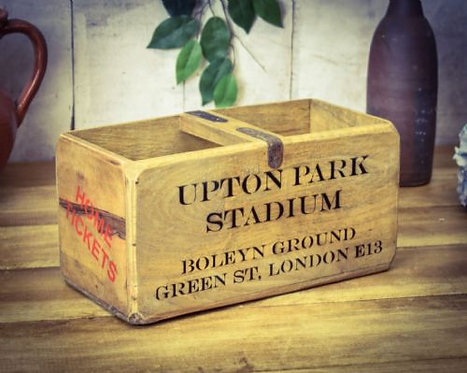 WOODEN BOX UPTON PARK