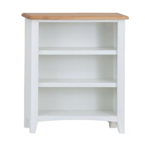 KINGSTON WHITE SMALL  BOOKCASE