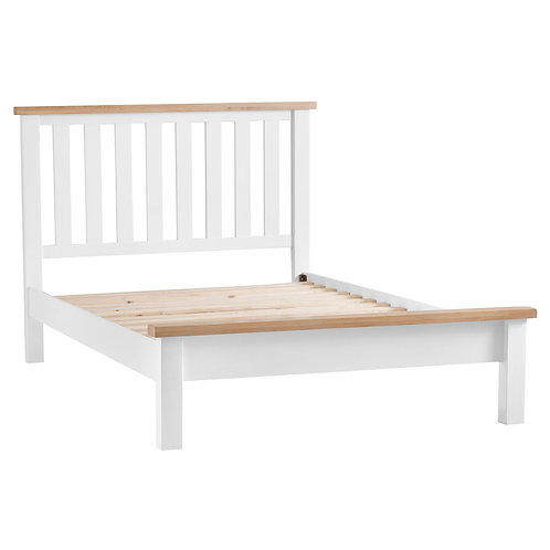 DORSET WHITE  COLLECTION 6T BED FRAME