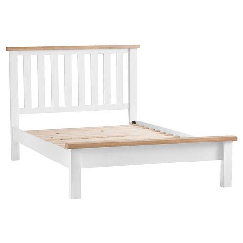 DORSET WHITE  COLLECTION 4.6FT BED FRAME