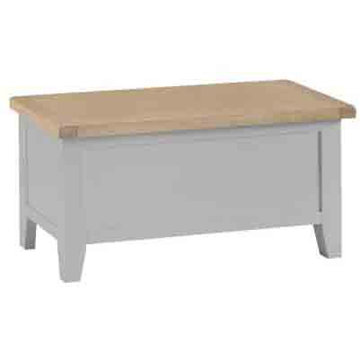 DORSET GREY COLLECTION BLANKET BOX
