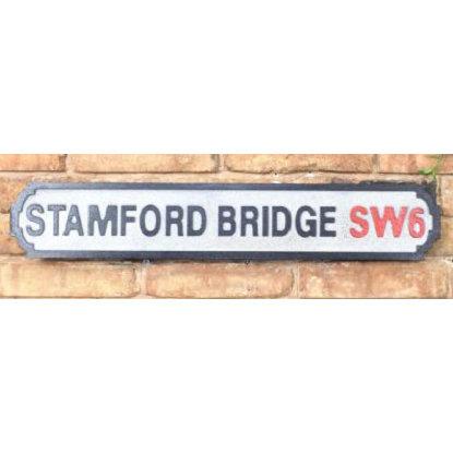 VINTAGE SIGN STAMFORD BRIDGE