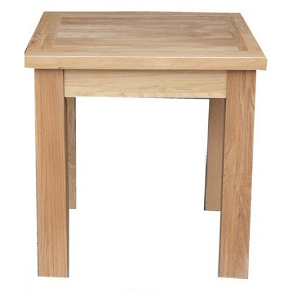 WINDSOR  OAK RANGE 75 X 75 DINING TABLE