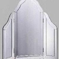 Venetian All Glass Dressing Table Mirror