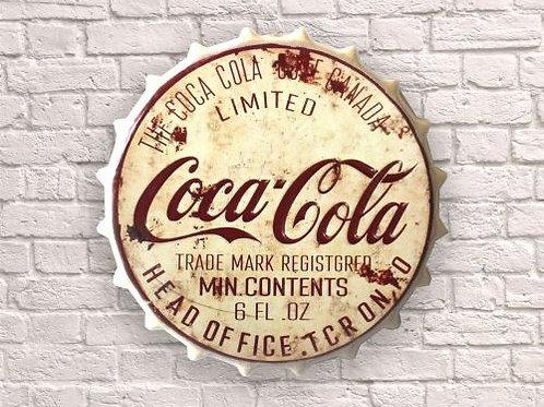 40cm bottle top cream coca cola