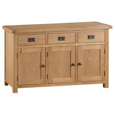 NEW KENT RUSTIC RANGE 3 DOOR SIDEBOARD