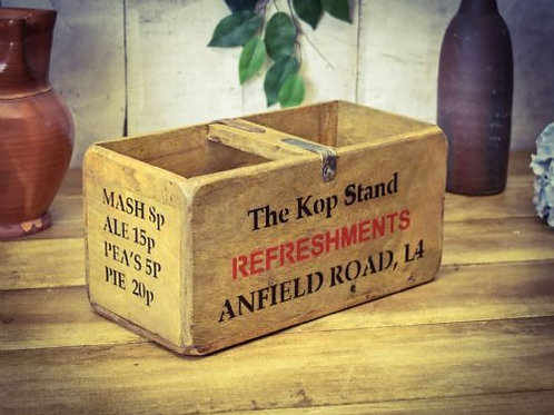 WOODEN BOX ANFIELD ROAD