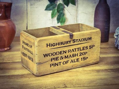 WOODEN BOX HIGHBURY