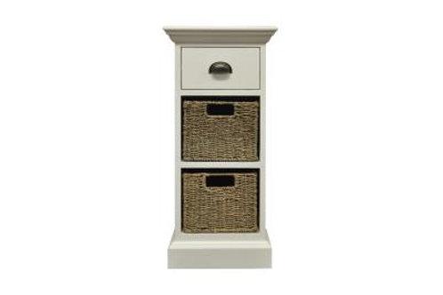 Occasional range 1 drawer 2 basket unit
