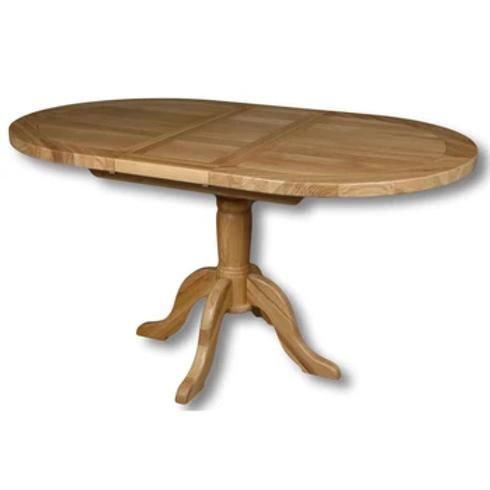WINDSOR OAK EXT OVAL TABLE