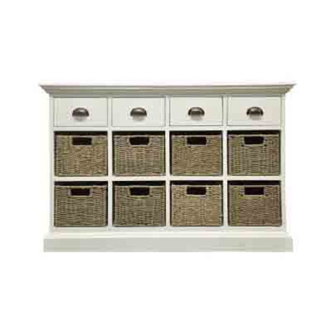 Occasional range 4 drawer 8 basket unit