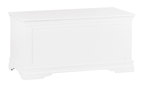 CAMDEN WHITE BLANKET BOX
