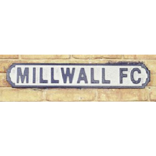 VINTAGE SIGN MILLWALL FC