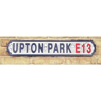 VINTAGE SIGN UPTON PARK E13