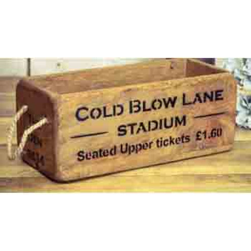 WOODEN BOX SMALL COLD BLOW LANE