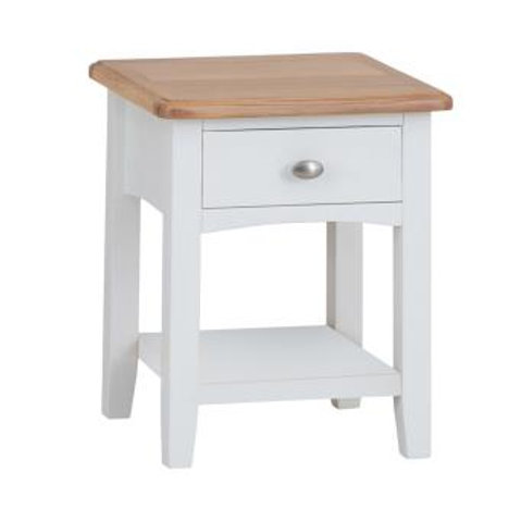 KINGSTON WHITE LAMP TABLE