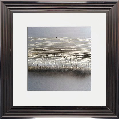 LIQUID ART   FRAME 75 X 75CM GOLD HORIZON MET FRAME