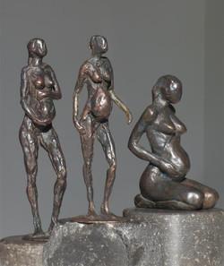 Drie zwangeren