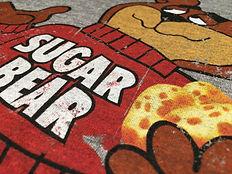 Sugar Bear Print on T-shirt