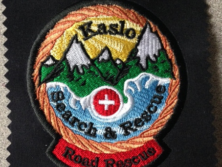 Kaslo Search and Rescue Embroidered Patches