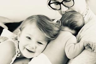 Baby Tim and Big Sis