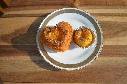 Passion Fruit Pecan Rum Cake
