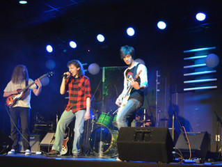Photos from the 2017 Rock Band Performance!