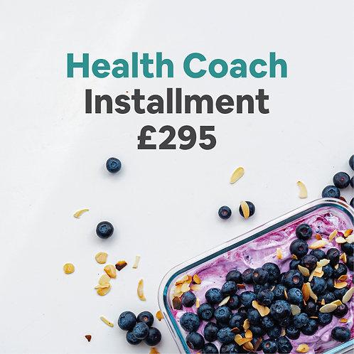 health coach installment