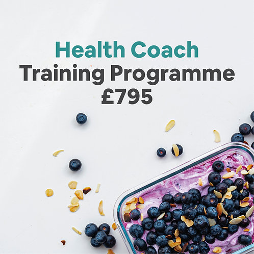 Certified Health Coach Training Programme for Nutrition Professionals