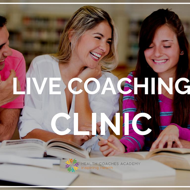 Live Coaching Clinic
