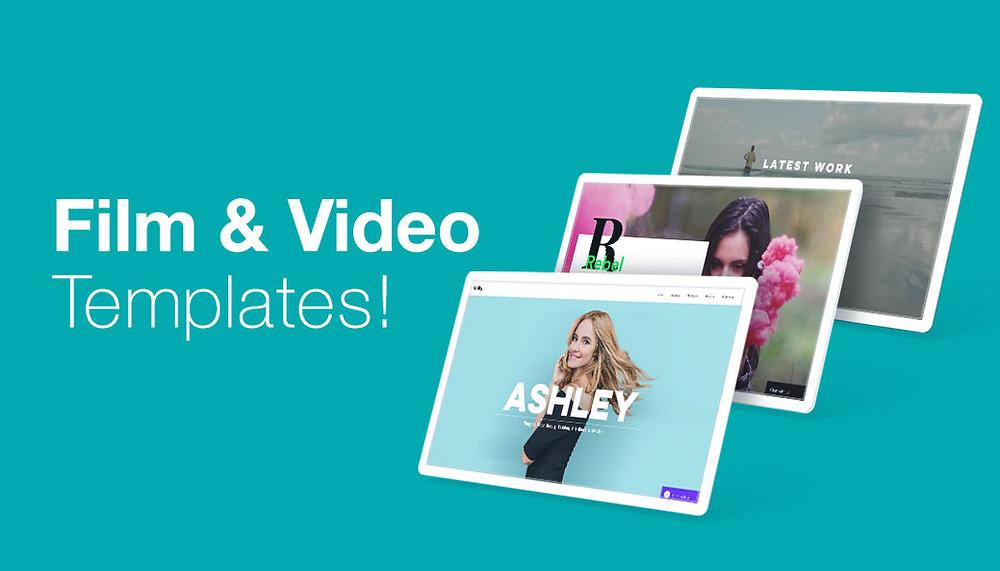 12 Video Website Templates for Film & Entertainment Professionals