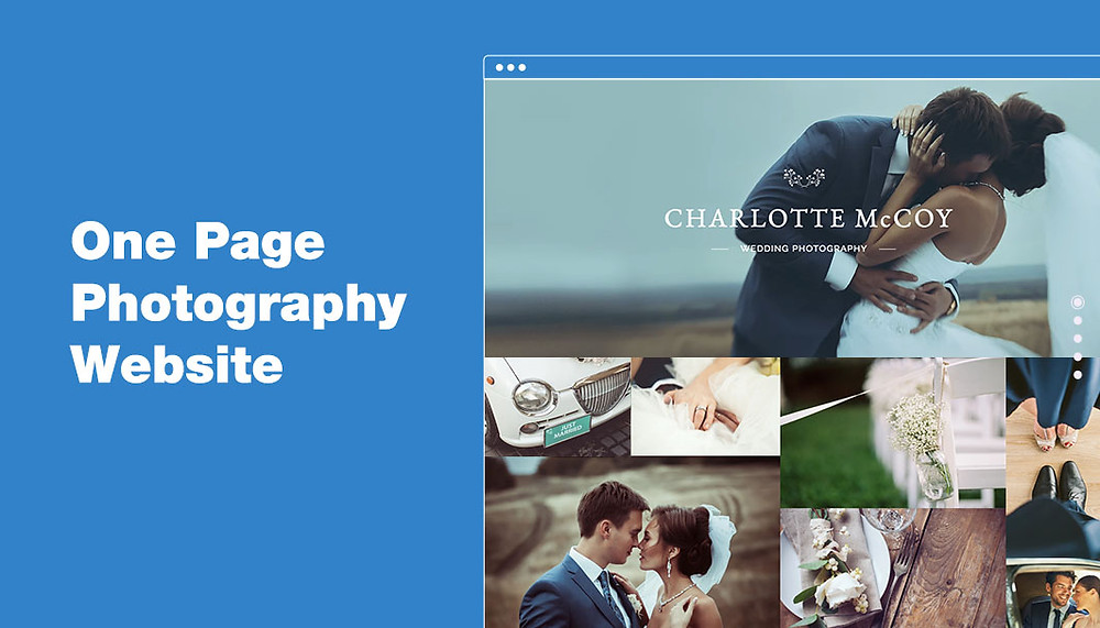 How to Create an Outstanding One Page Photography Website
